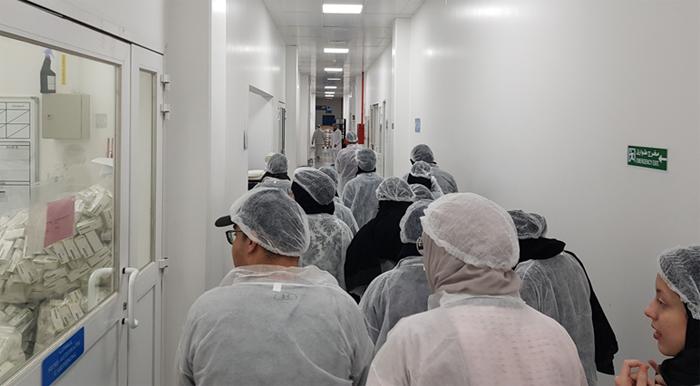 CoP Students Visit to Al Jazeerah Pharmaceutical Industries
