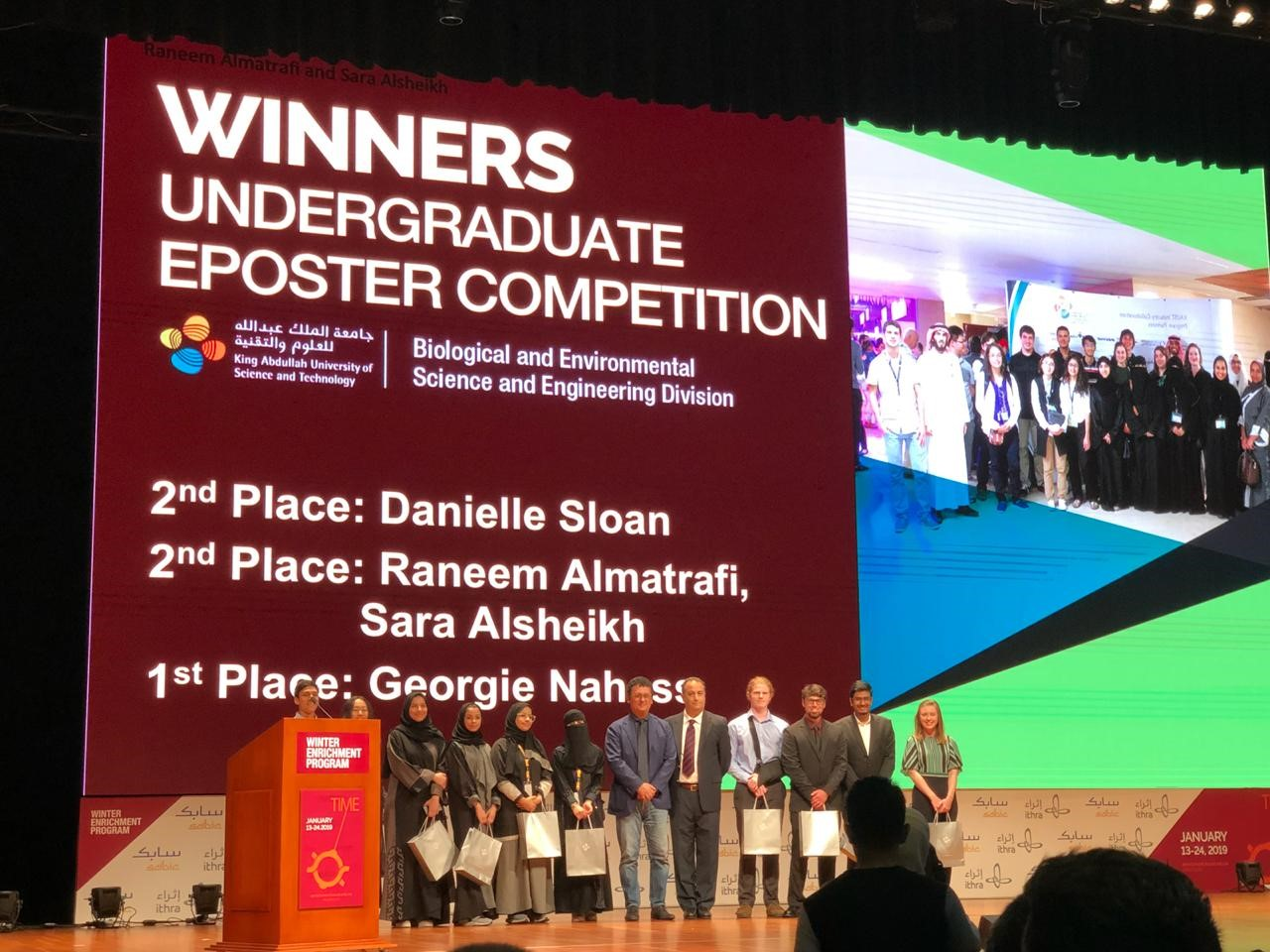 Life Science Students Win the 2nd Prize at 'KAUST