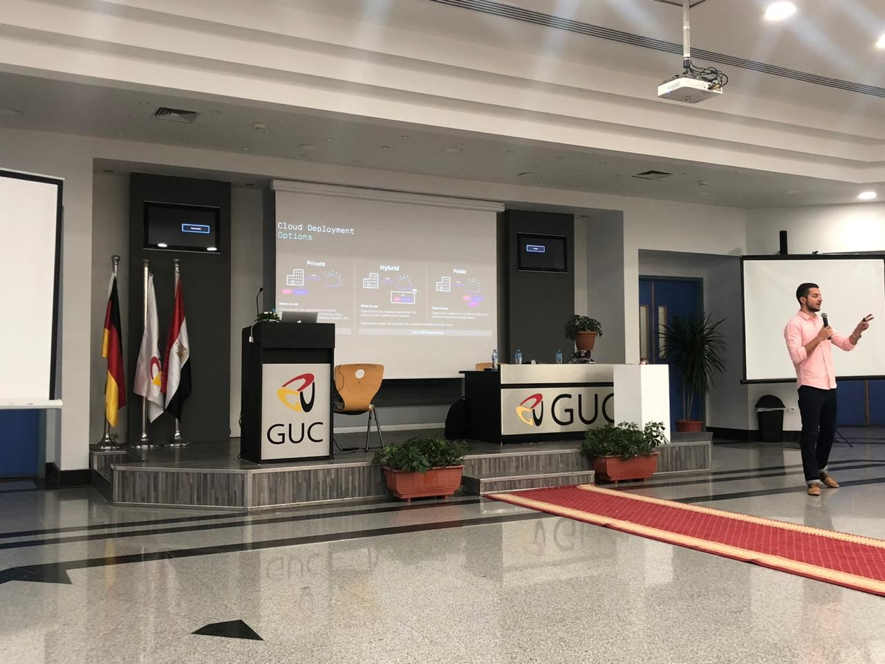 Three Mem Students Attend A Data Science Winter School At The German University In Cairo Guc Alfaisal News